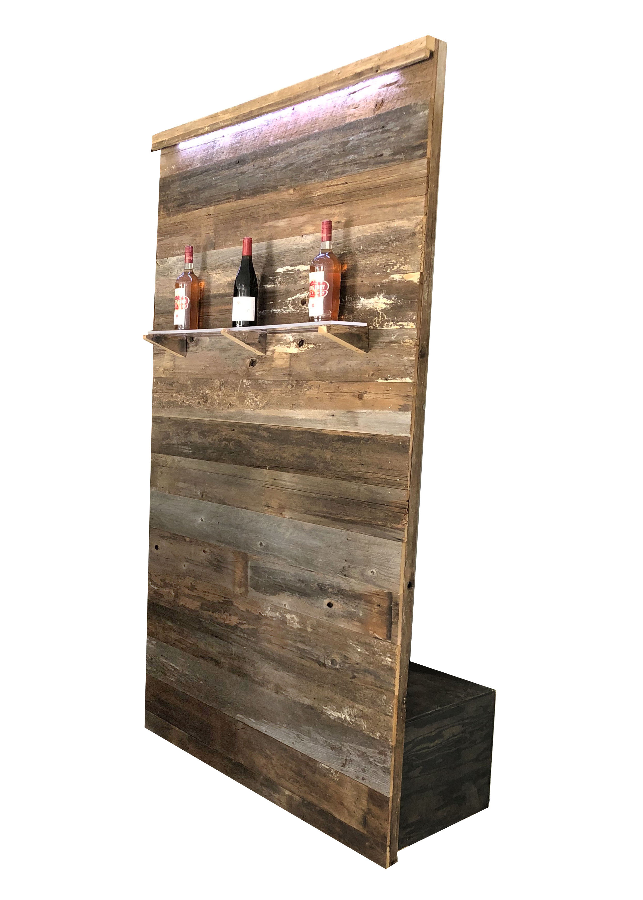 Rustic wall with shelf and lighting single.jpg