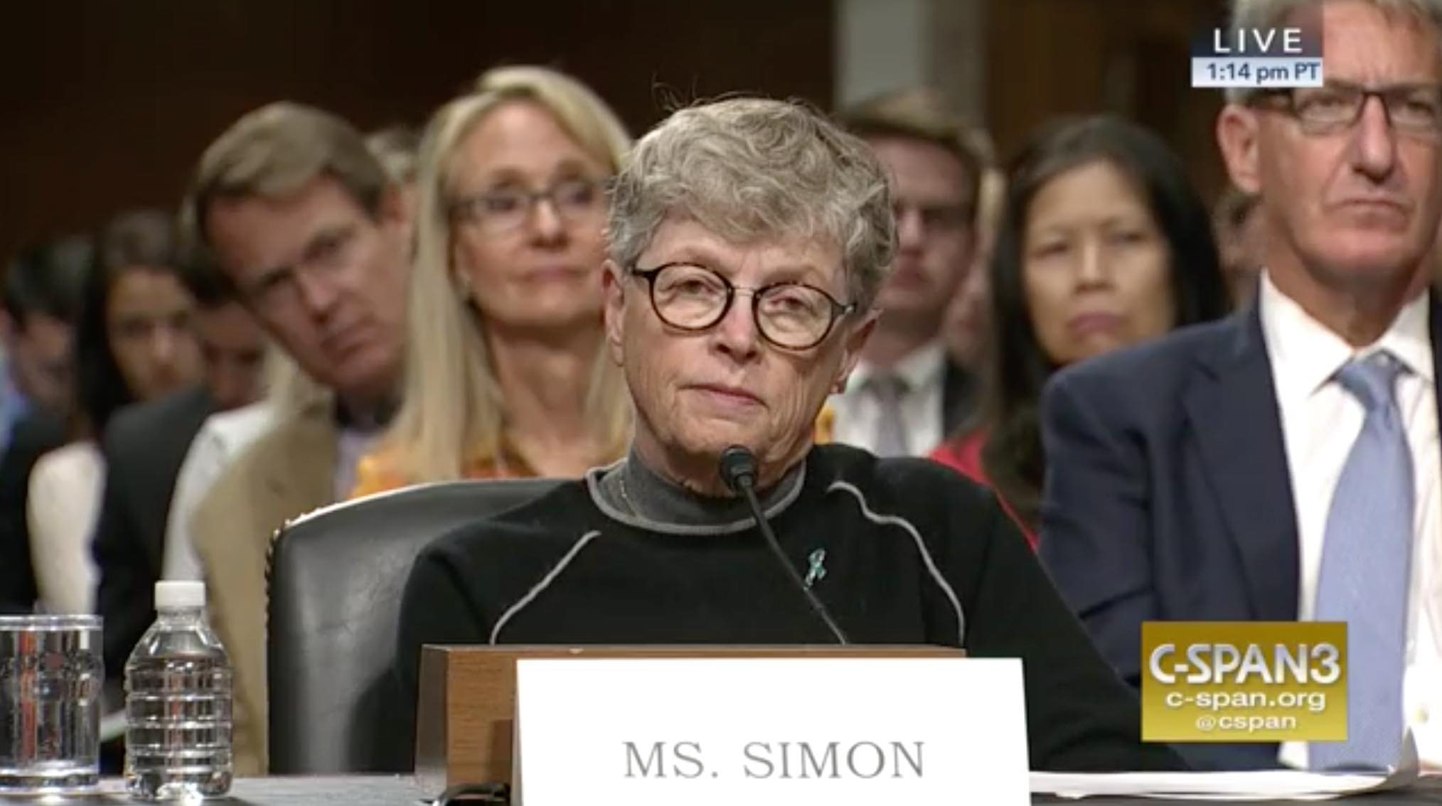 Congressional Hearing on Sexual Abuse