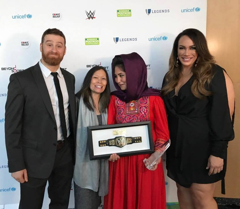 Beyond Sport Awards with WWE