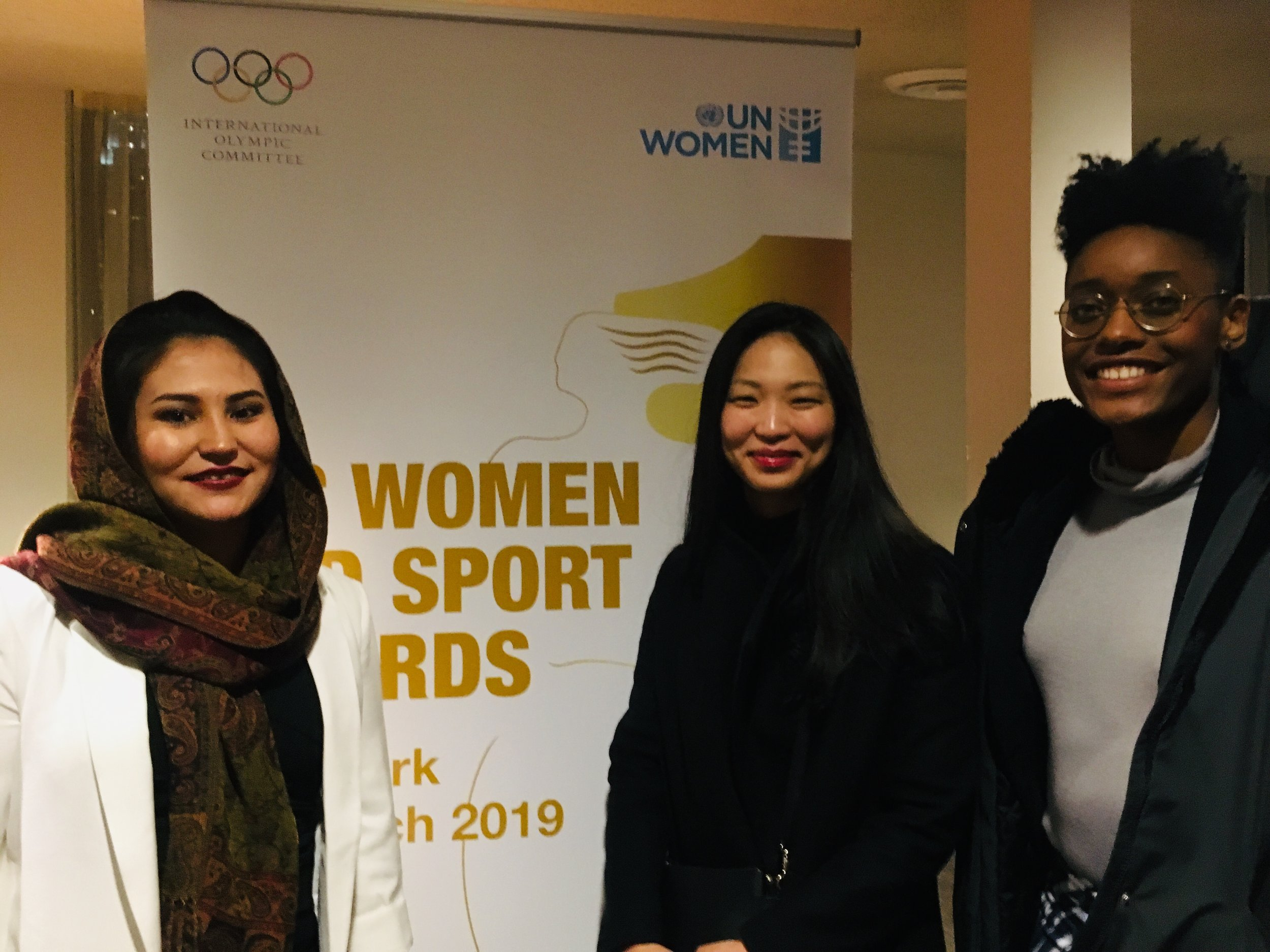 UN Women + Intl Olympic Committee