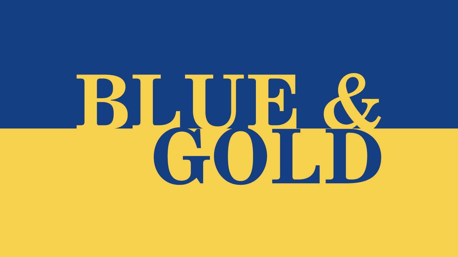 Blue and Gold Dinner