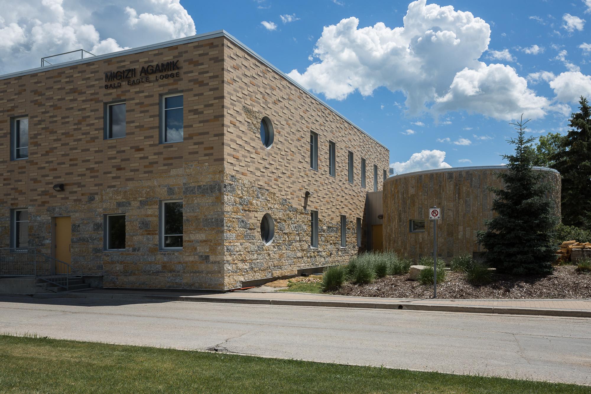 Indigenous Student Centre, exterior detail photo / Photo:  Lindsay Reid