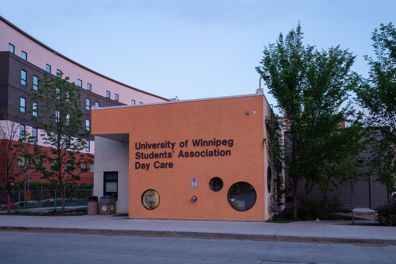 UWSA Daycare, exterior photo of building / Photo:  Lindsay Reid