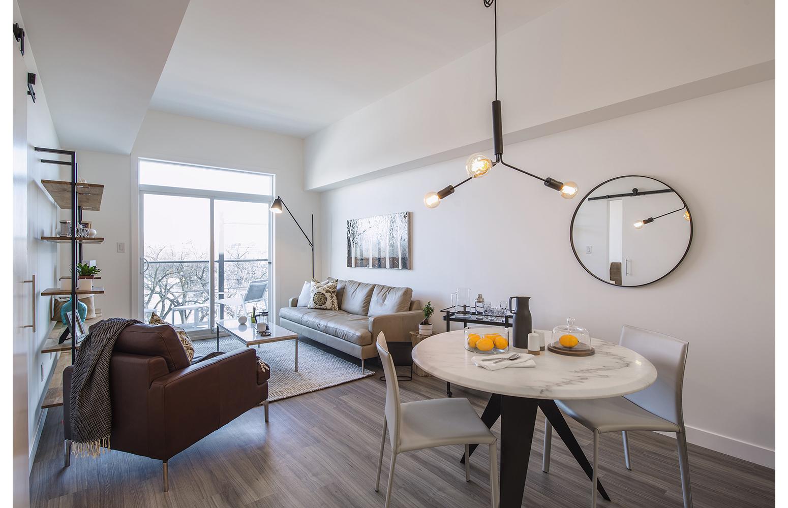 24Seven Condominium, interior photo of suite