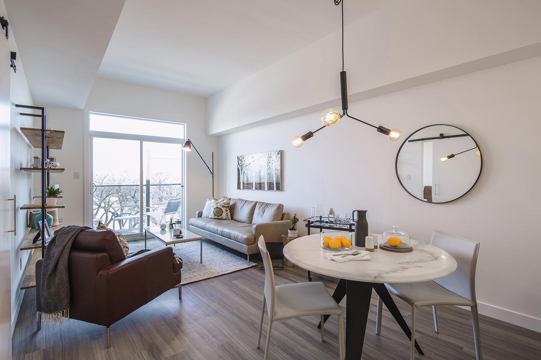 24Seven Condominiums, interior photo of suite