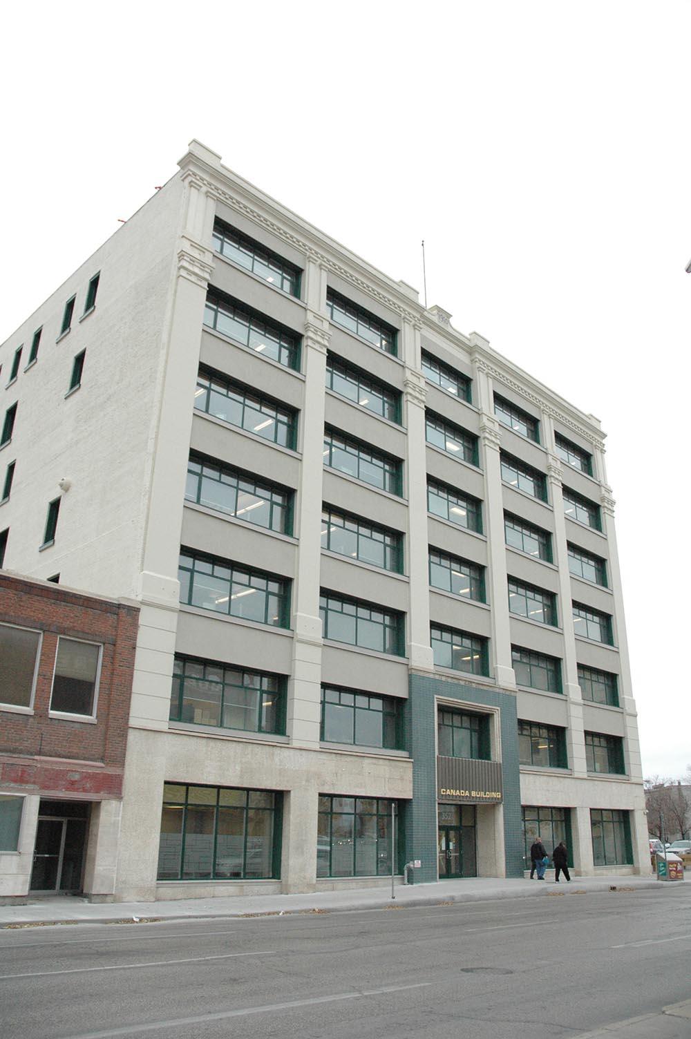 Canada Building Interior Re-development