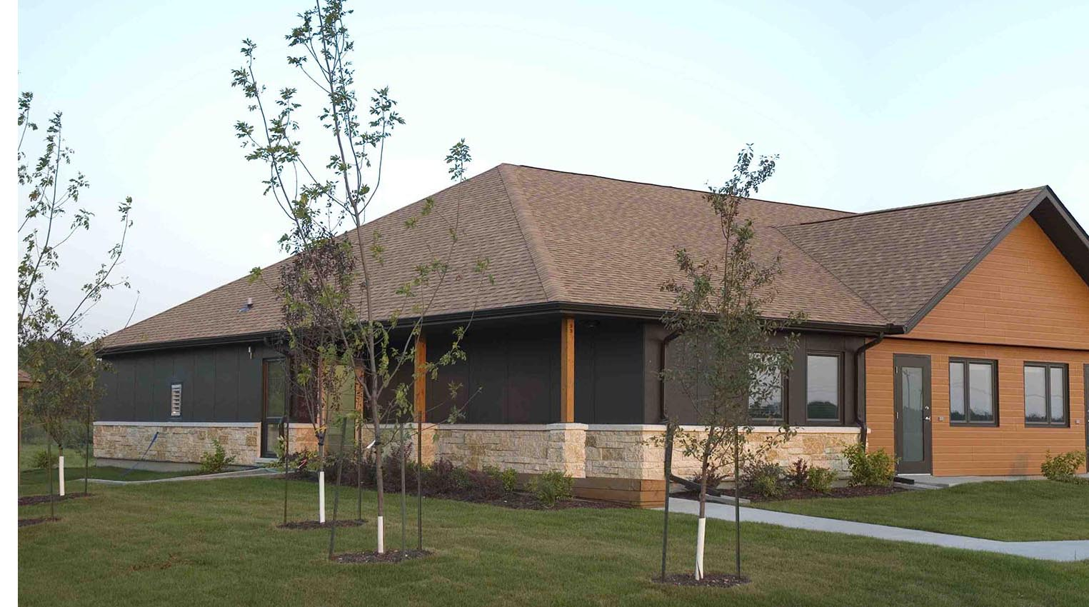 East Borderland Housing, exterior photo of building
