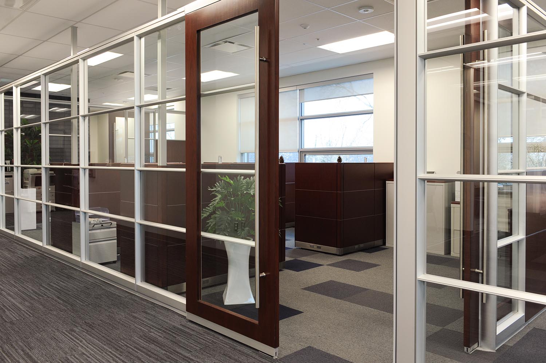Entegra Credit Union, interior photo of offices / Photo: Joel Ross