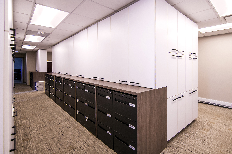 Fast Trippier Law Offices, interior photo of hallway / Photo: Derrick Finch