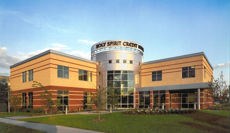 Holy Spirit (Entegra) Credit Union, exterior photo of building