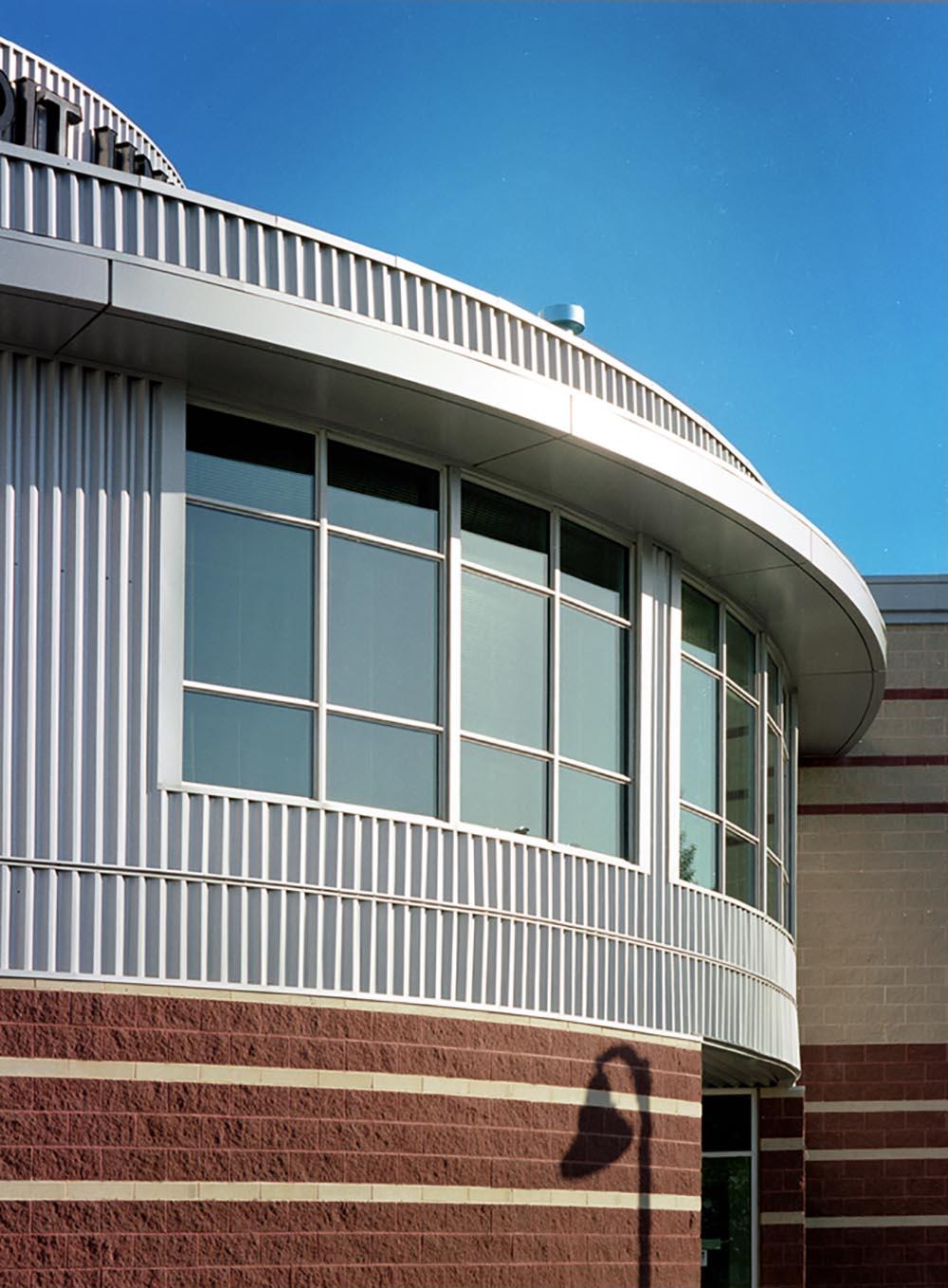Holy Spirit (Entegra) Credit Union, exterior detail photo of building