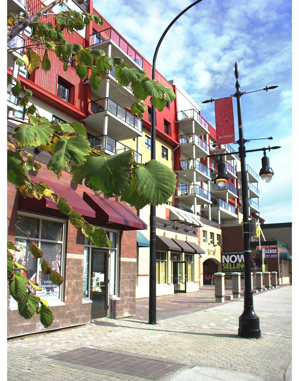 Place Joseph Royal Condominiums, exterior photo of building