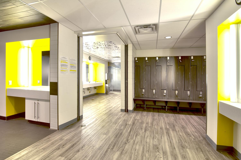 Sportex, interior photo