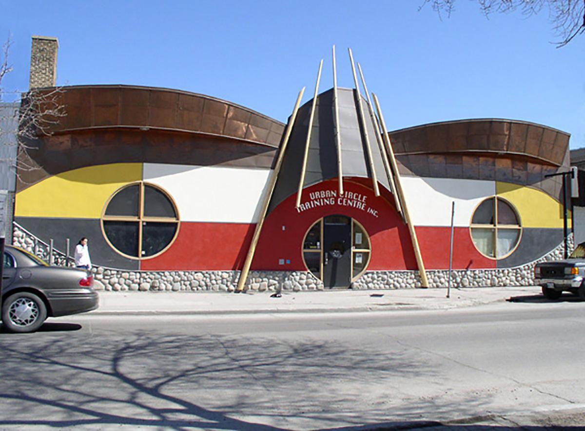 Urban Circle Training Centre, exterior photo of building
