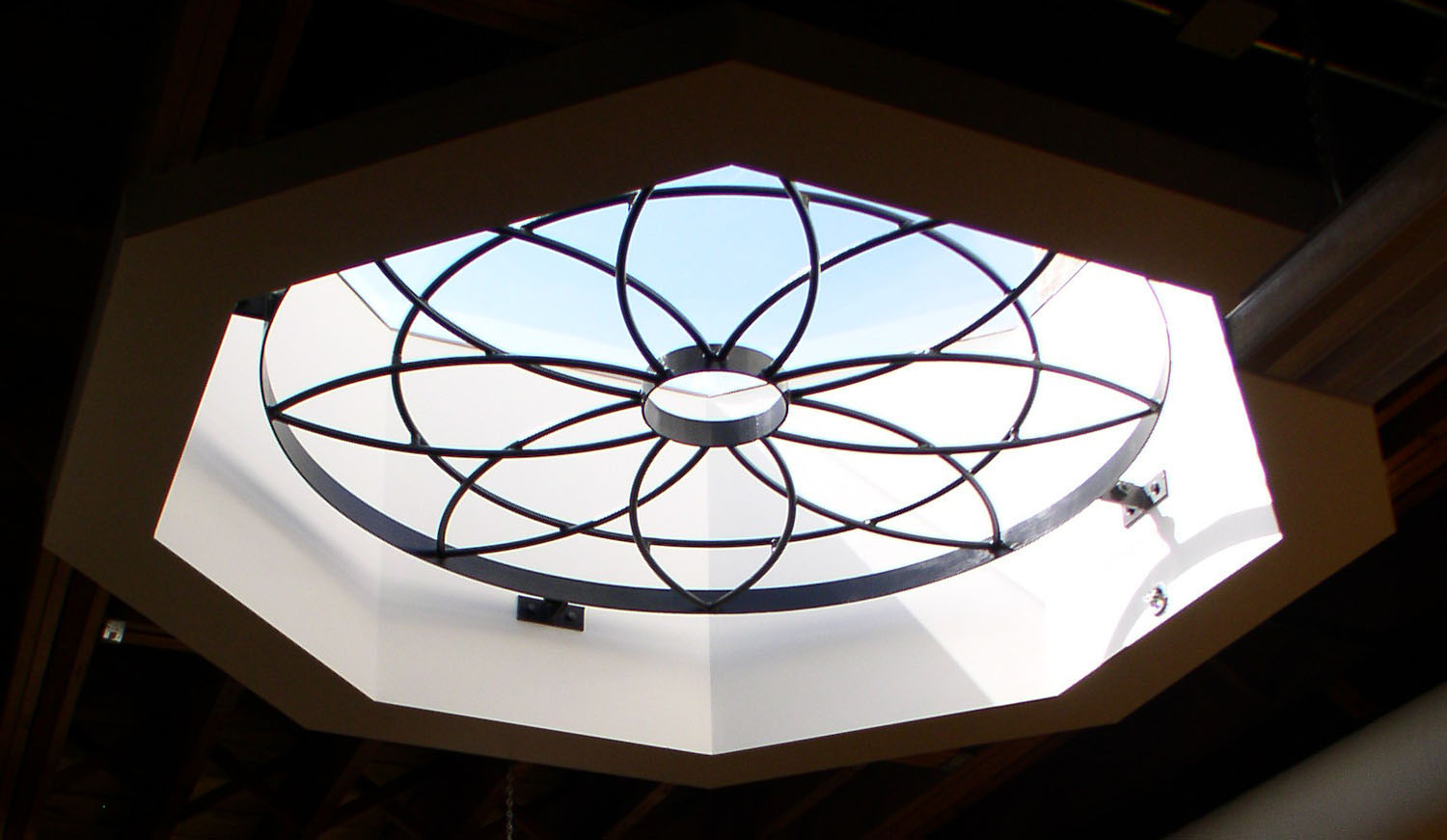 Urban Circle Training Centre, interior photo of ceiling detail