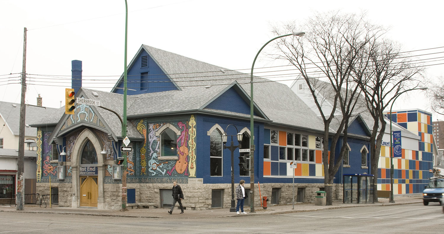 West End Cultural Centre, exterior photo of building from across street / Photo: Tracy A Wieler