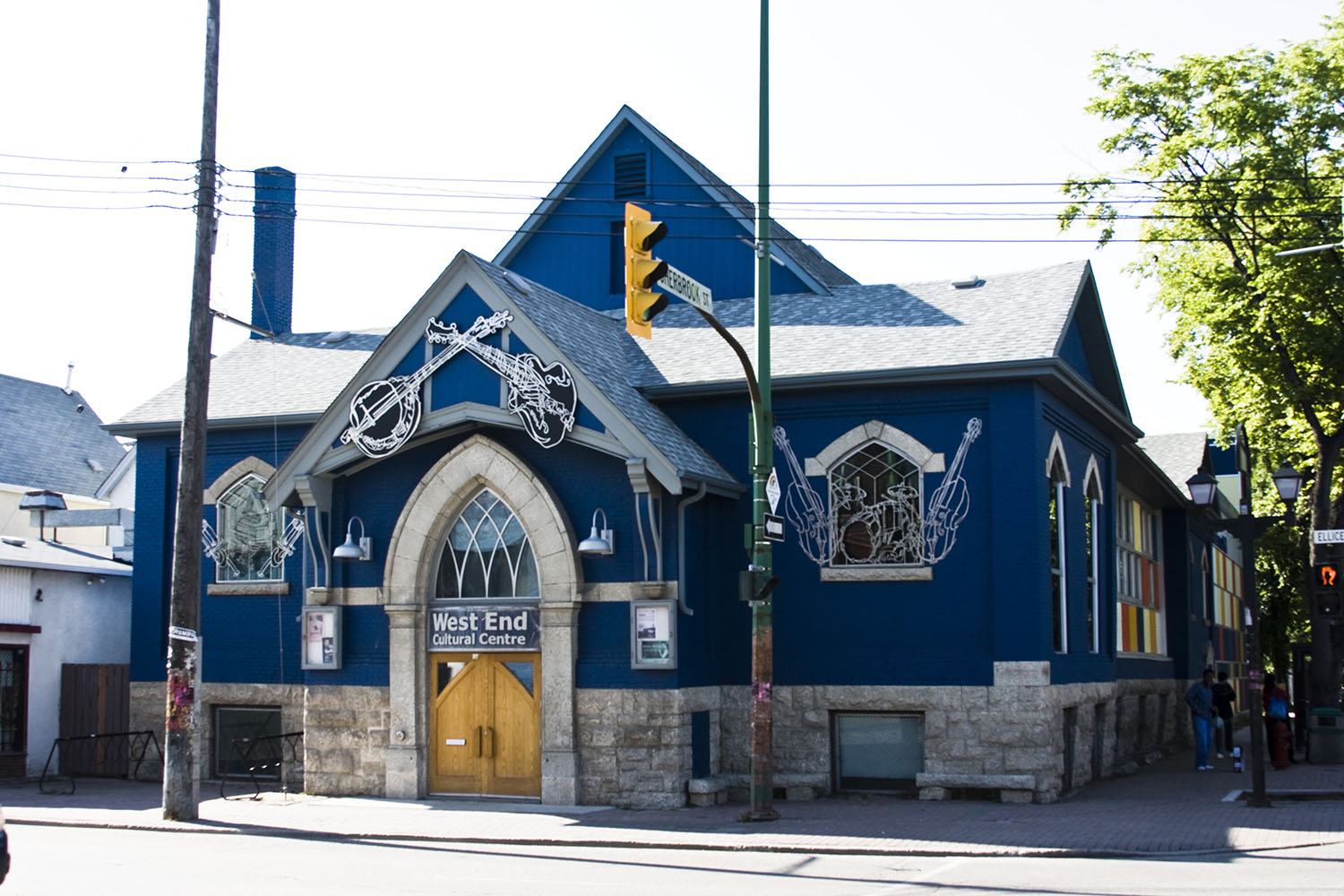 West End Cultural Centre, exterior photo of building entrance / Photo: Tracy A Wieler