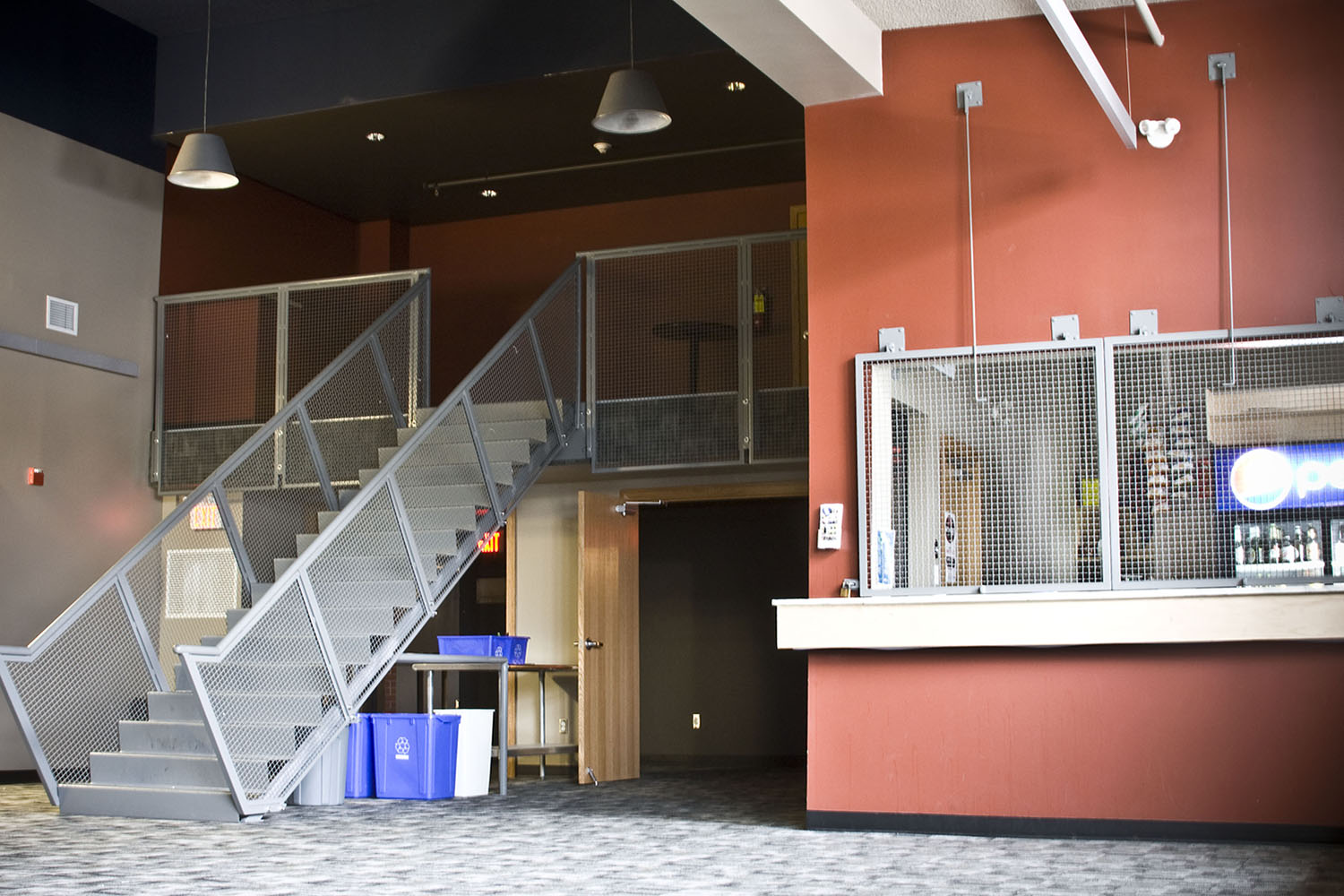 West End Cultural Centre, interior photo of lobby / Photo: Tracy A Wieler
