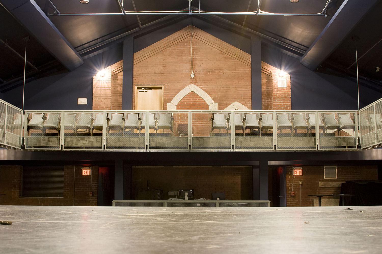 West End Cultural Centre, interior photo from the stage / Photo: Tracy A Wieler
