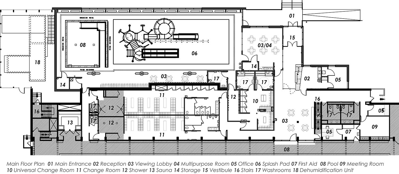 seven Oaks Pool Floor Plan
