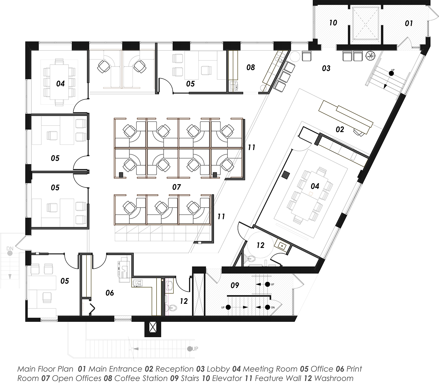 2013.51 A2-01 FLOOR PLAN ST.MARY'S v2017
