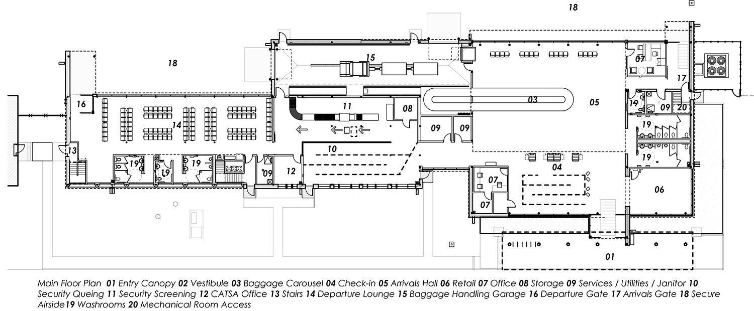 Brandon Airport  - Floor Plan