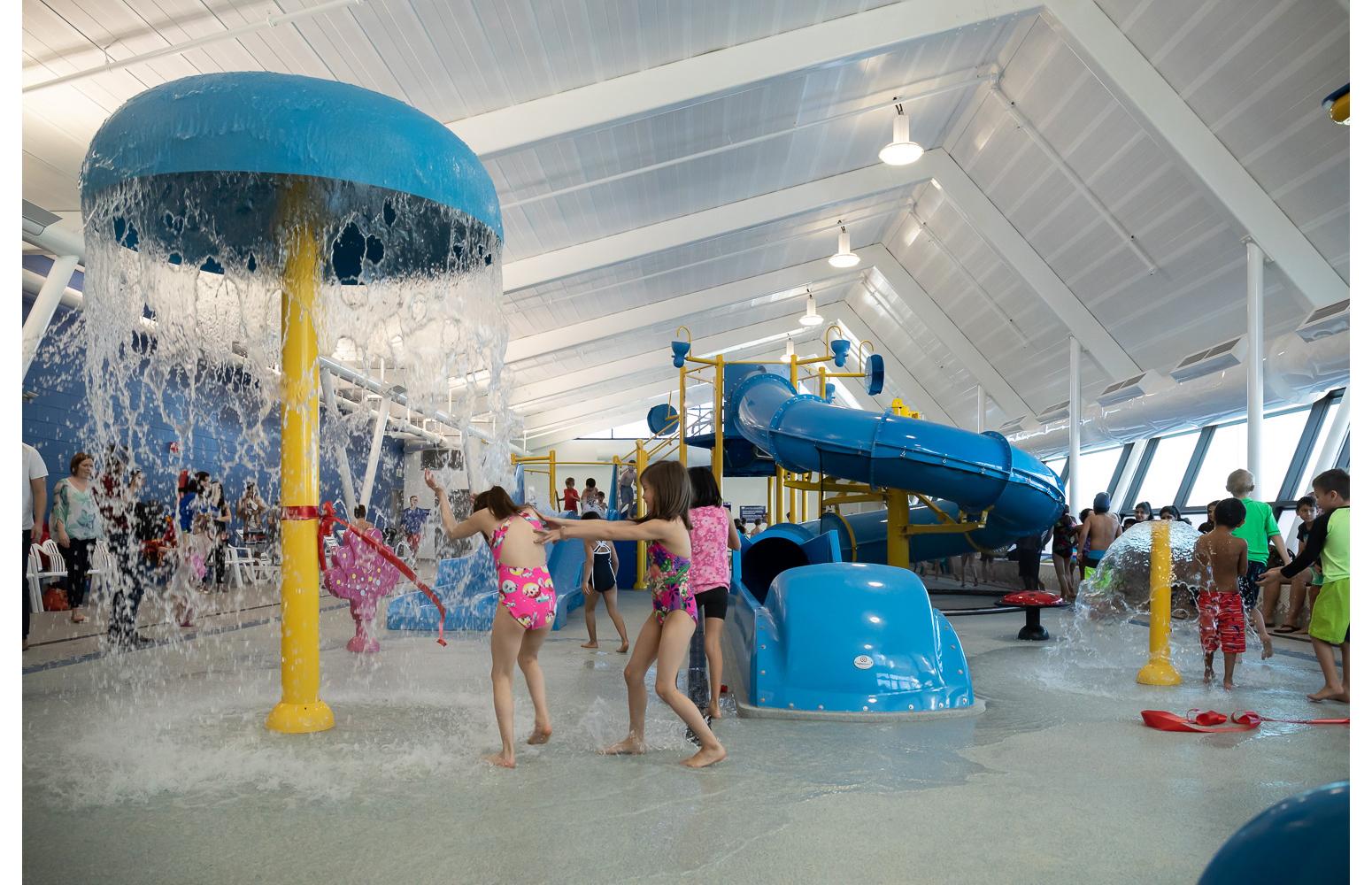 Seven Oaks Pool Grand Opening - Kids play area