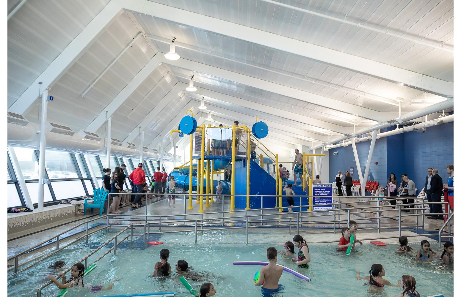 Seven Oaks Pool Grand Opening - Splash pad