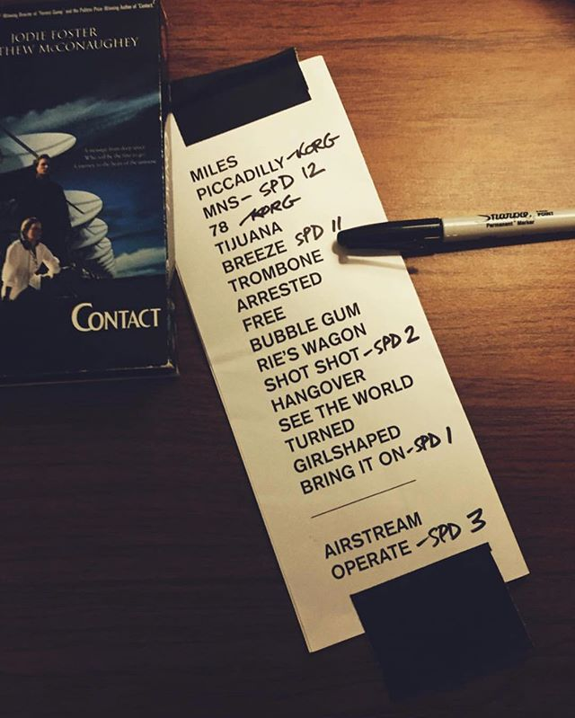 Setlist - The Vic, Night 2  Tonight we're at @musicinthezoo with @str_rltns