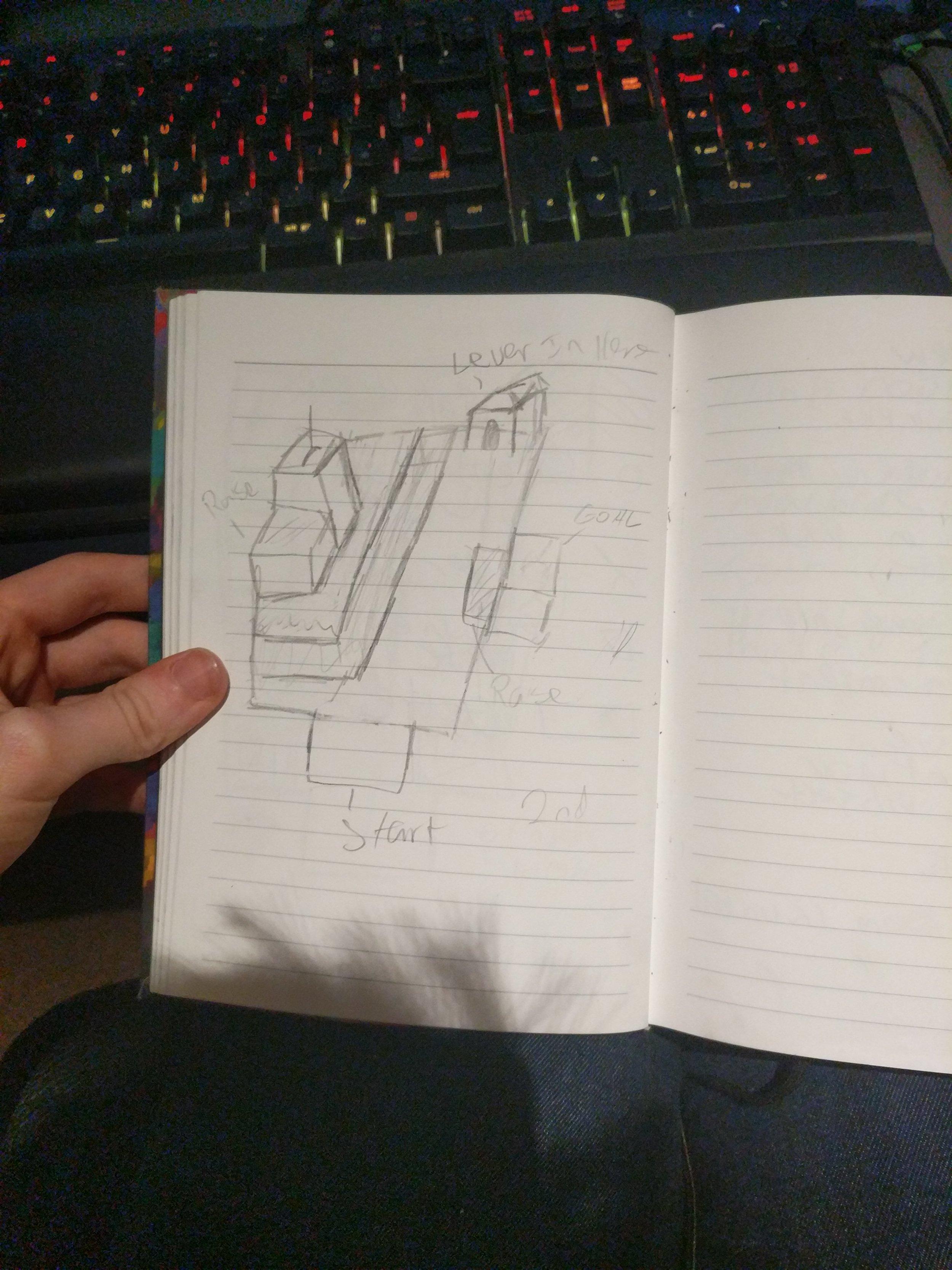 Level 2 Drawn Plan
