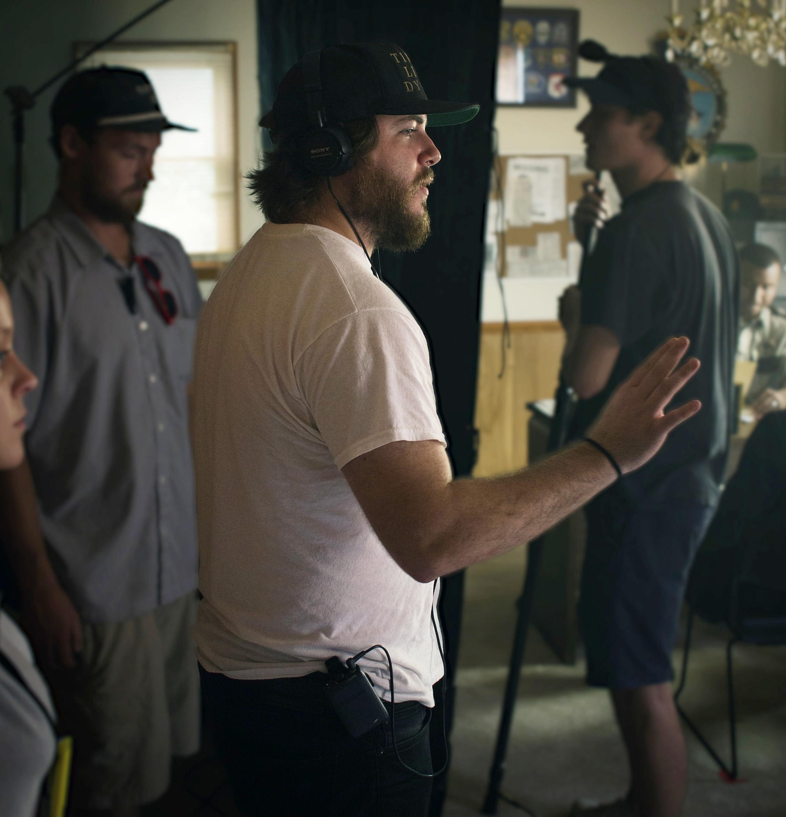 """BTS """"Miner's Mountain""""  Director : Bennett Pellington  DP : Eli Wallace-Johansson"""