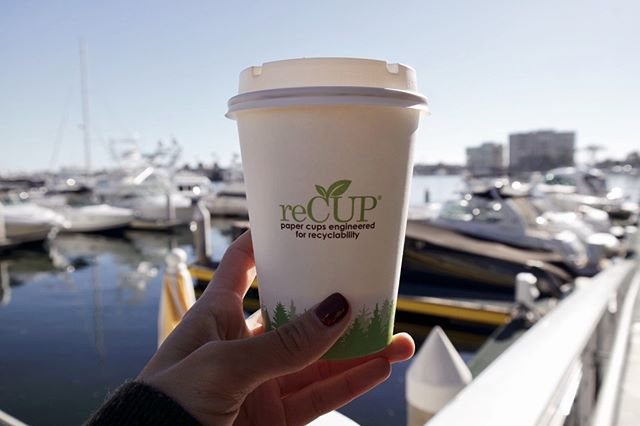 Our Friday is off to a good start! 🌞#reCUP #recyclablepapercup #EarthCoating