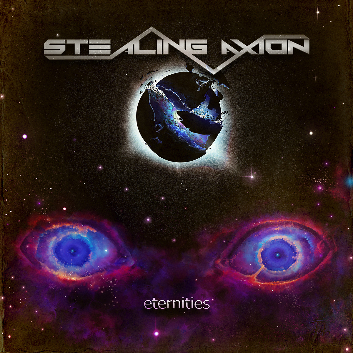 Stealing Axion:eternities - album cover art.