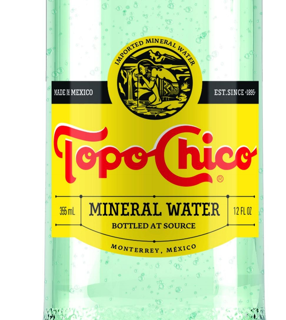 Best Sparkling Water ever - Topochicos:Amazon, Whole Foods and Wallmart.