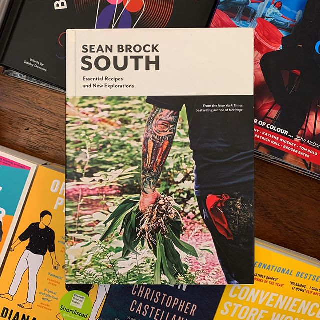 A culinary deep dive into the classics of Southern cooking, and then some.  South by Sean Brock is an essential addition to a kitchen library - grab a copy in store today!  #books #bookrecommendations #bookstagram #staffpicks