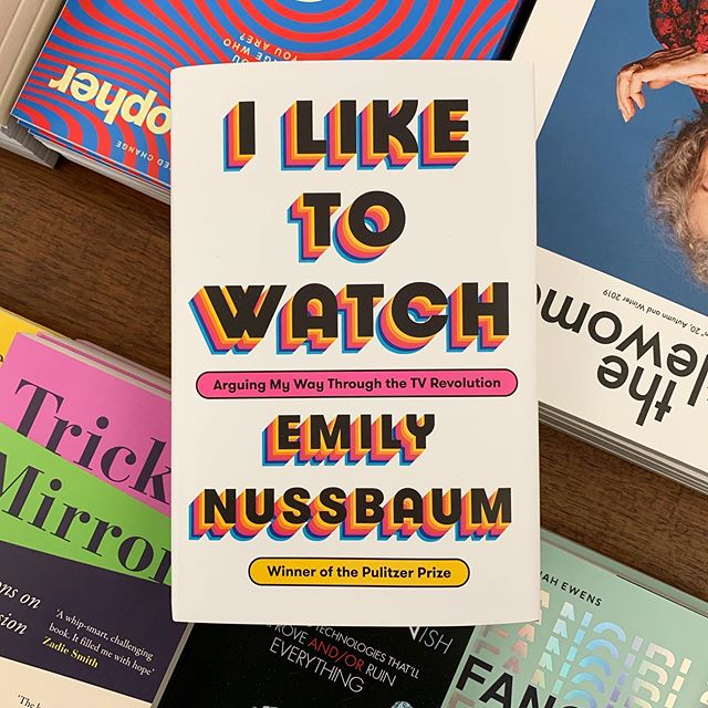 'A provocative collection of new and previously published essays arguing that we are what we watch.' Emily Nussbaum has presented an insightful, hilarious and astute collection of essays on not only the content we engage with, but who we are on a fundamental level. An absolute must read!  #bookreview #bookcoverdesign #bookdesign #bookrecommendations #beautifulbooks #beautifulbookcovers