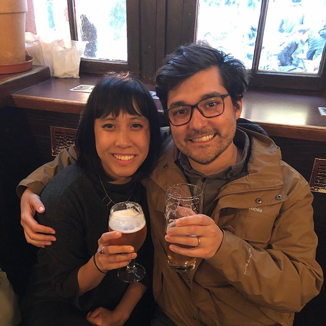 German beer is EVERYTHING people say it is. Fun, light, reasonably price, and conducive to hanging with your favorites. Not pictured here: my man Günter who just sat in our booth with us and knew EVERYONE in the bar...#aachen #wanderlust #wonderful
