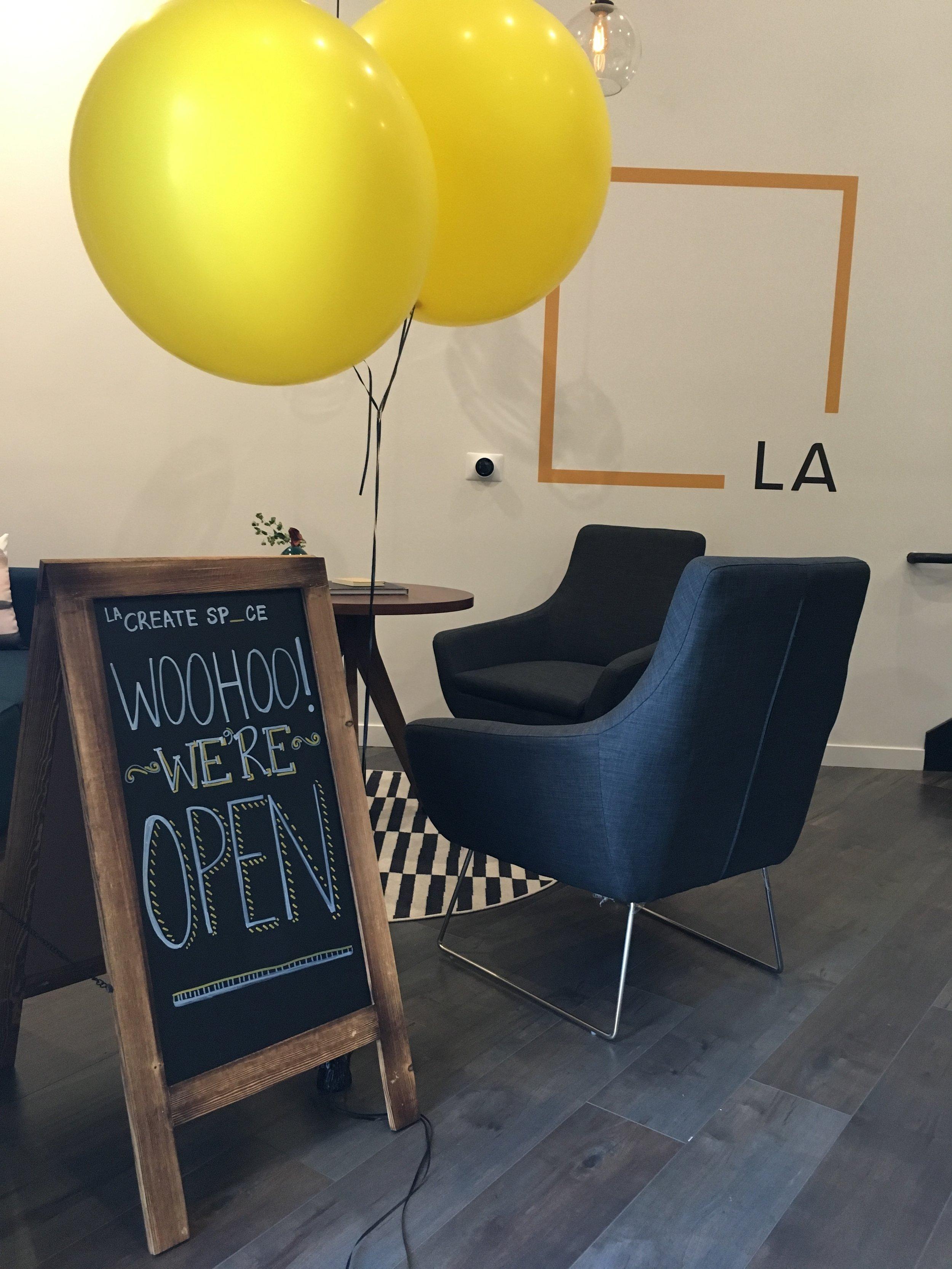 LA Create Space Grand Opening