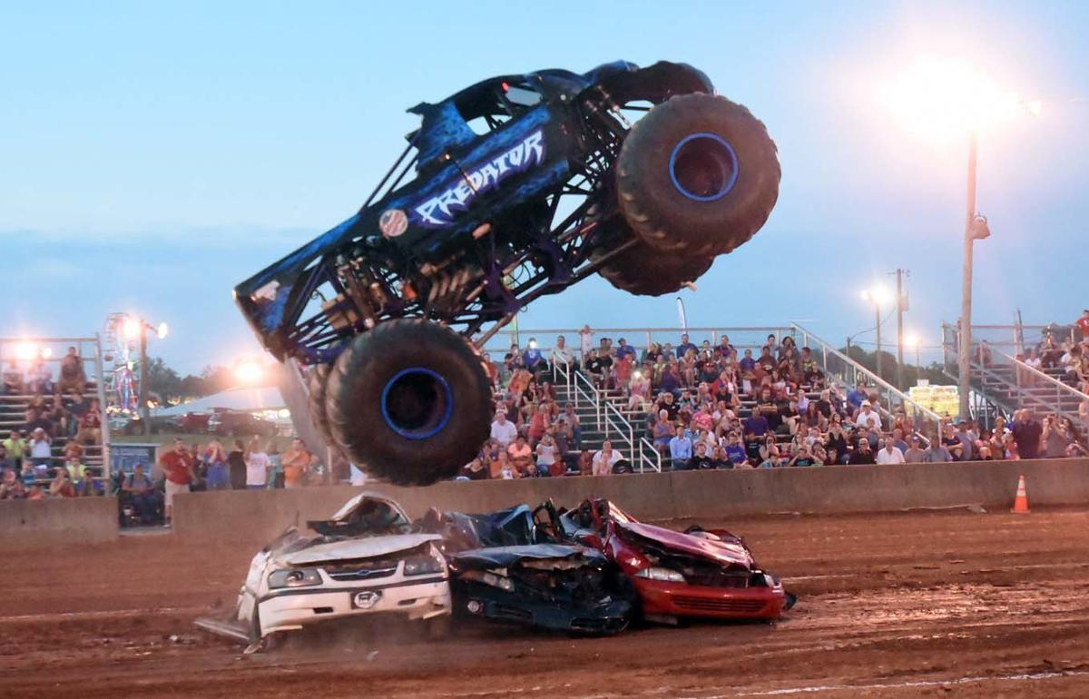 don't miss out - This year's fair will offer FREE monster truck rides!