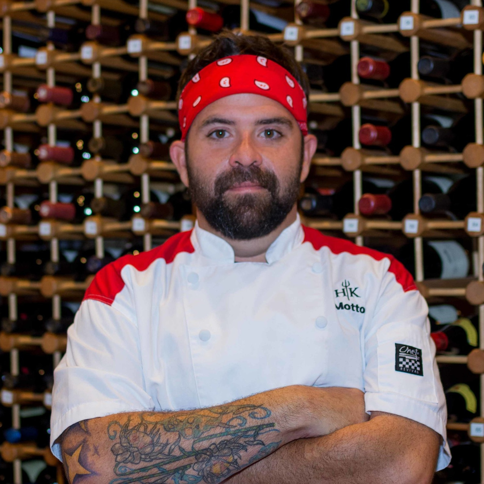 chris motto  2018 nola chefs taste challenge finalist;  hell's kitchen