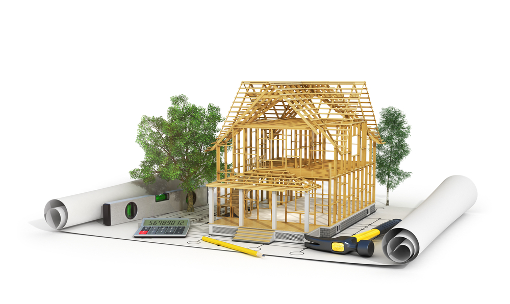 Custom Home Building blueprints and framework