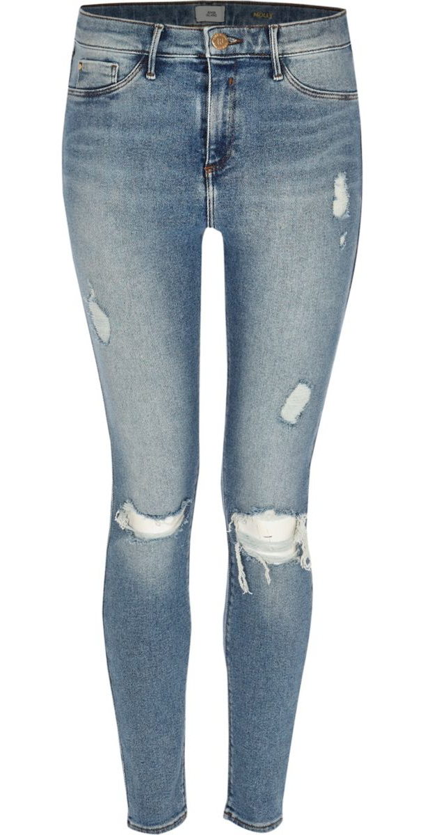 1. JEANS - I love River Island Jeans because they're not jeans, they're jeggings!Click here $90