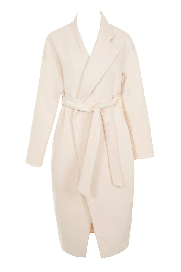 3. COAT - House of CB CoatClick here $135 (sale price)