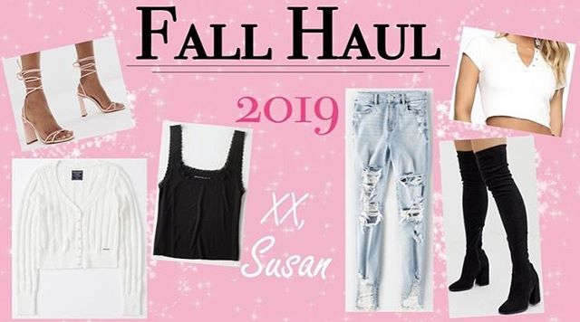 Miss me? 💕 Check out my lasted blog post Fall Haul for the must have clothing items for 2019! 👢🍂🧥 LINK IN BIO More posts coming soon! Xx, Susan • • • #vivavivacious #fashion #fall #fallhaul #clothing #fashionnova #ae #asos #abercrombie #likeforlikes #affordablefashion #style #ootd