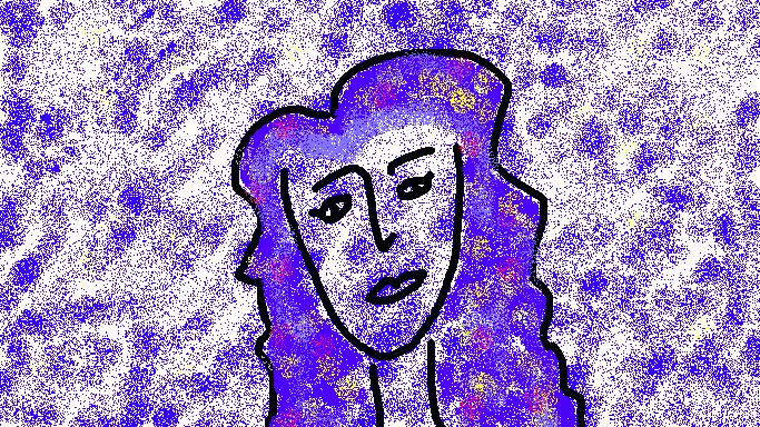 Self-portrait by Arielle O'Keefe