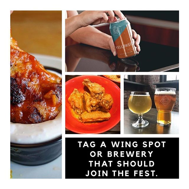 Roll call! Tag your favorite spots that should join the Ohio Wings and Beer Festival in the comments.