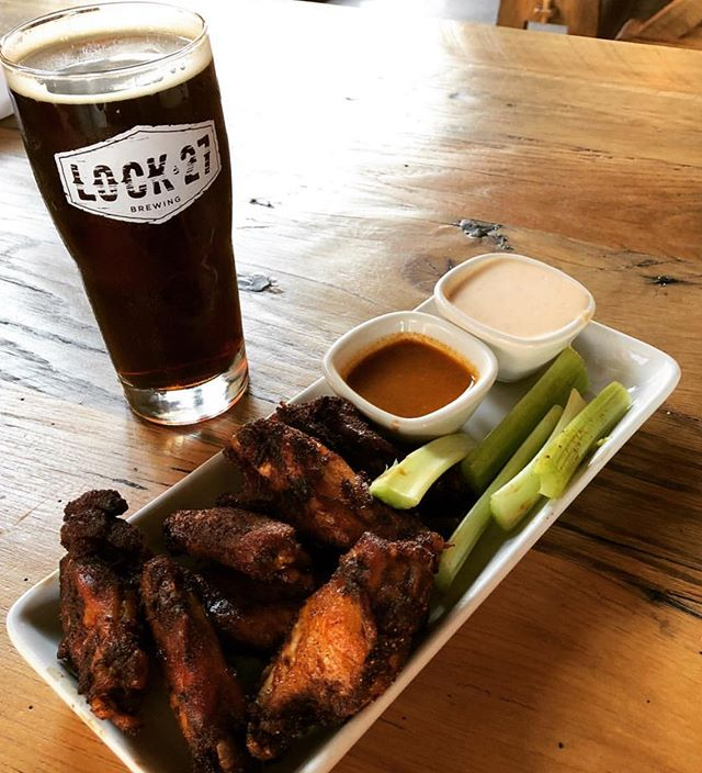 Welcome to the show @lock27brewing !! We're excited to have you. They will be slinging wings and serving beer!!