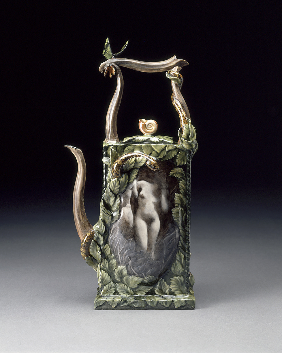 "Eden, 1999, View-Woman, Promise gift to LACMA, 15"" x 9"" x 3"""