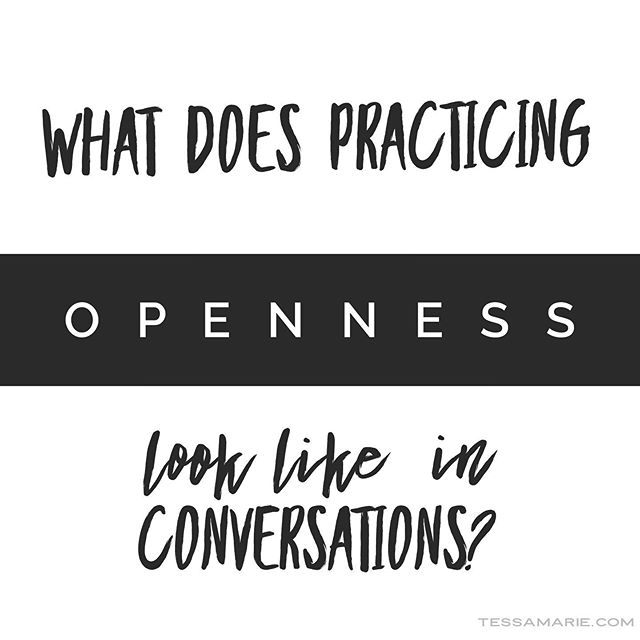 "I've heard it before, but recently feel as though life is providing ample opportunities for me to put ""openness"" into practice in my daily conversations. - ""Openness: a willingness to listen for what I prefer not to hear."" - So many times, naturally, my ears are tuned to listen for whatever it is I'm looking to gain, take away from or learn from the conversation. -Do I need evidence to show I'm ""right"" in my actions or to justify what I've done? - Am I trying to defend myself or someone else? -Am I working to prevent or avoid conflict or past hurts? - It sounds simple but it's not easy- that is moving myself and my natural mechanics out of the way and really engaging with another person, specially when I believe they are intentionally causing tension or pain. - Am I willing for even a moment to listen to learn something new? To understand their perspective (not what I believe their perspective or experience is), but what is real for them? Can I intentionally listen for what it has been, up until now, I've preferred not to hear? - It's in the moments I make this choice that I then see and experience new possibilities in conversations, conflict is resolved while understanding, peace, confidence and connection are experienced. . . . #relationship #conflict #understanding #connection #beingheard #transformation #breakingbarriers #conflicttoconnection #maybeitsjustme #blamegame #nomore #transformationcoach #listentolearn #activelistening #selfimprovement #newunderstanding #restorerelationships #breakdownbarriers #conflictresolution"