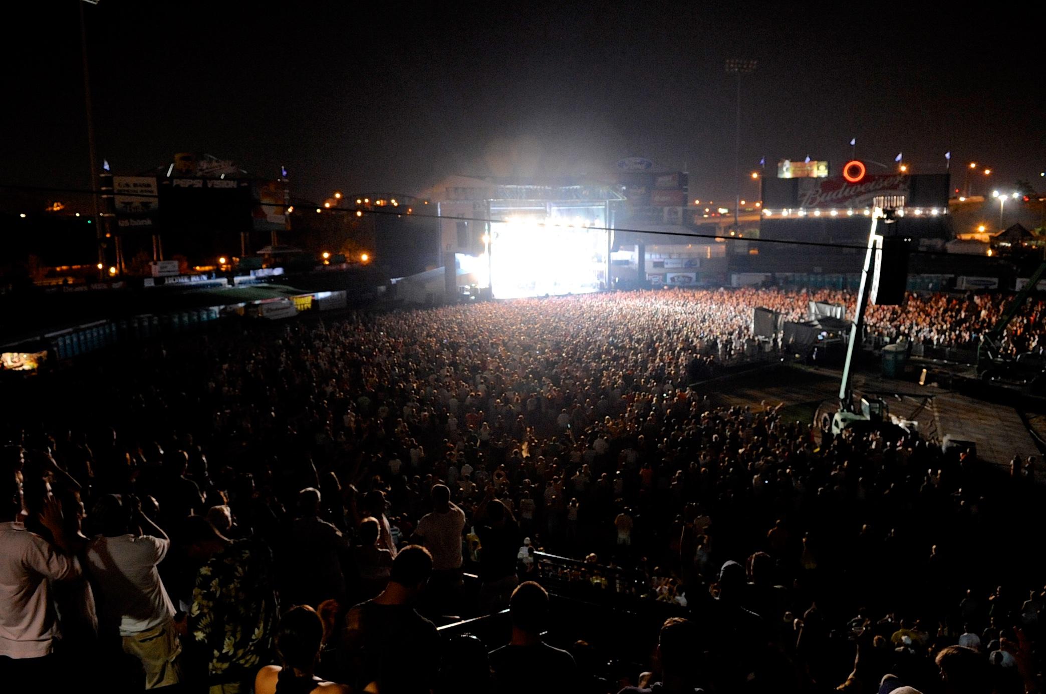 Louisville Slugger Field Concerts